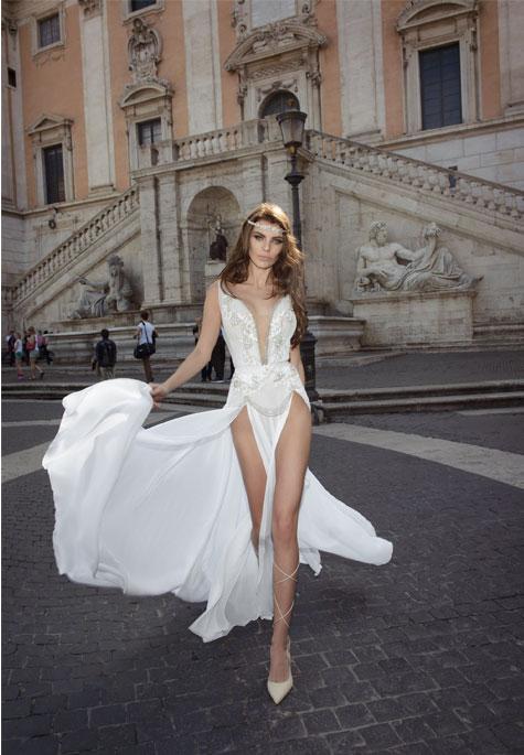 שמלת שסעים - ג'ולי וינו