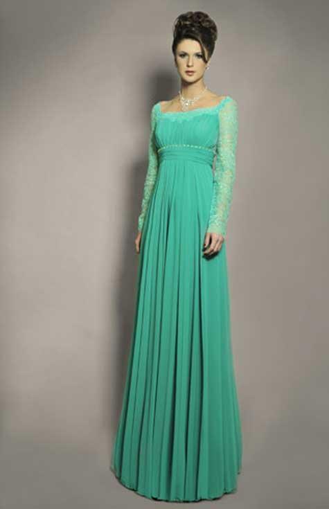 שמלת ערב תחרה