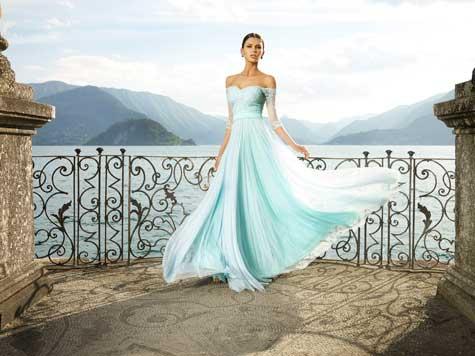 שמלת ערב מפוסלת