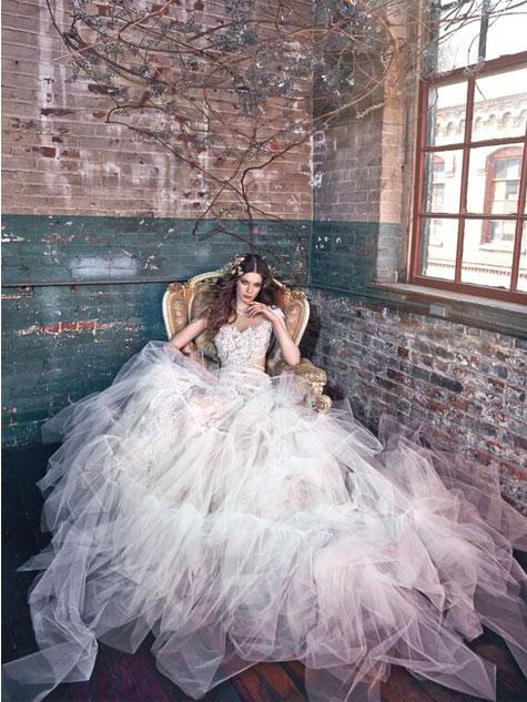 שמלת כלה 2016 של גליה להב בקולקציית חורף