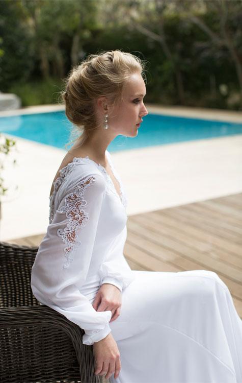 שמלת כלה של רומן בלבן קולקציית חורף 2016