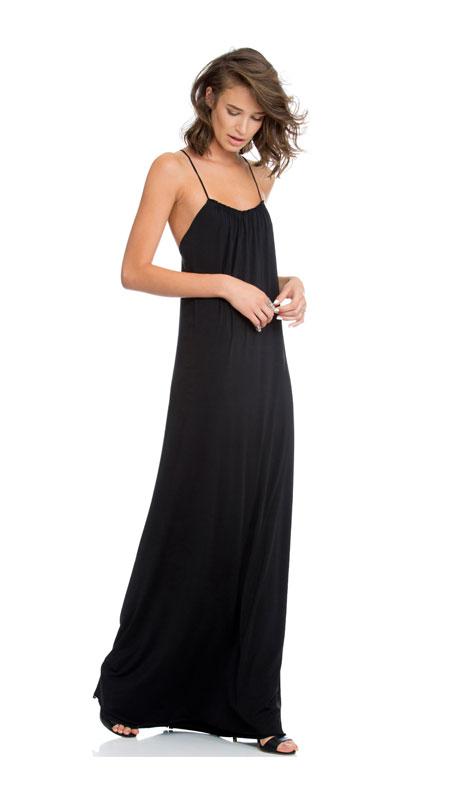 שמלת ערב שחורה לחתונה