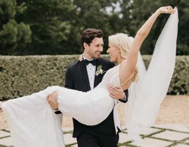 יפה בלבן: מיס אמריקה לשעבר התחתנה בשמלה של ברטה, חתונות וסלבס