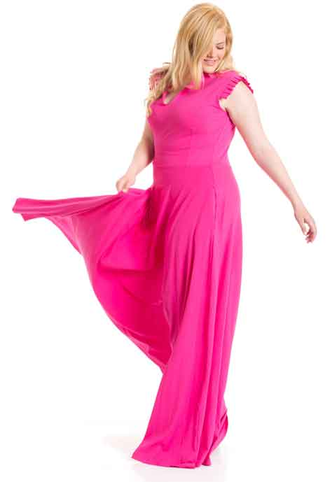 שמלת ערב צבעונית