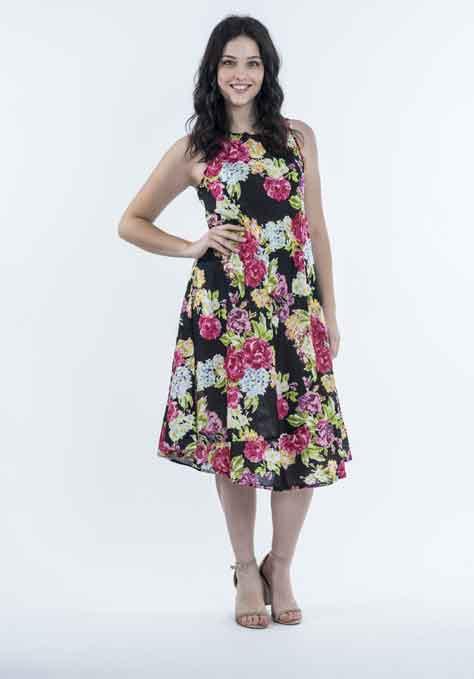 שמלה קלילה ורומנטית