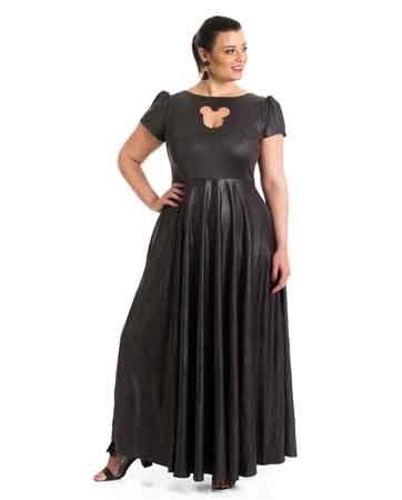 10 שמלות ערב צנועות, לוהטות וקלאסיות לאישה המלאה