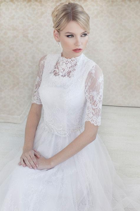 שמלה: יעל אסרף. צילום: איילת רבינוביץ'