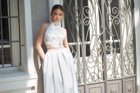 שמלת כלה במראה רומנטי ורך