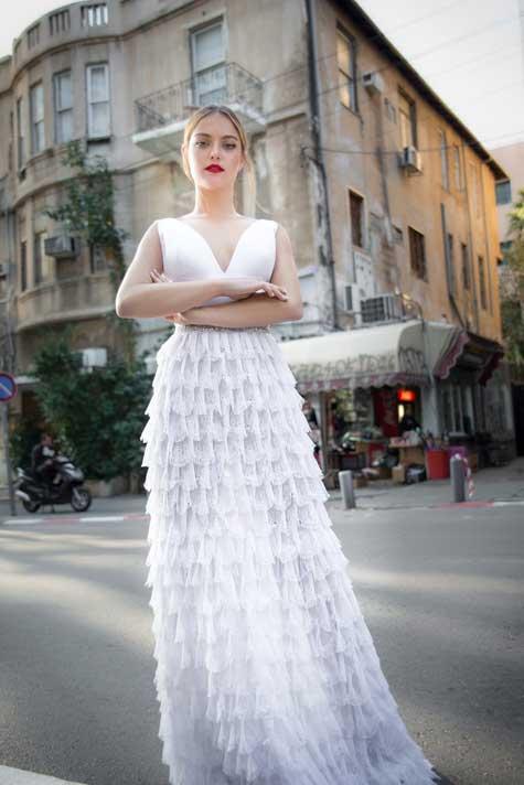 שמלת כלה 'שכבות'