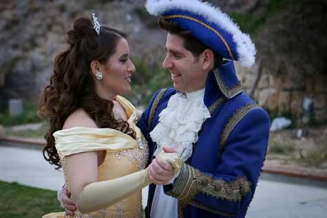 החתן והכלה - רגע לפני החופה